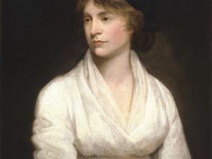 Mary Wollstonecraft, por John Opie