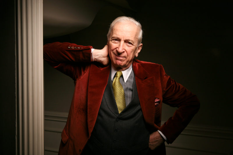 20101574A TALESE 4/14/09 New York, NY Portraits of author Gay Talese in his Manhattan home. Credit: Fred R. Conrad/The New York Times Published 04-16-2009: Two of Gay Talese's best-known works are being reissued with extra material. (Fred R. Conrad/The New York Times)