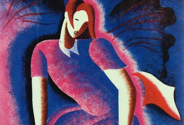 Fragmento de la portada de Woman in the Dark, de Dashiell Hammett