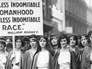 A fearless indomitable womanhood...